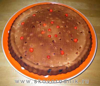 пирог с рябиной рецепт с фото